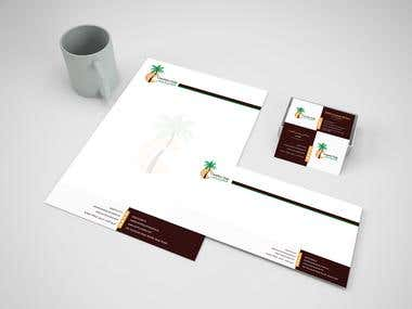 Logo, Bussines Card, Envelope and letter head
