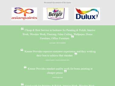 Kausar Color Paint - Customize WordPress
