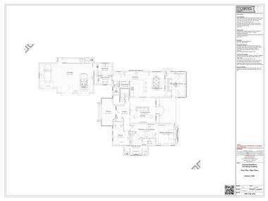 Baroque/Contemporary Architectura 2 Storey Bungalow