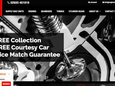 Automobile Service Centre Website