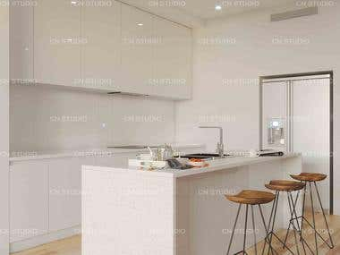 Interior design - Kitchen Render