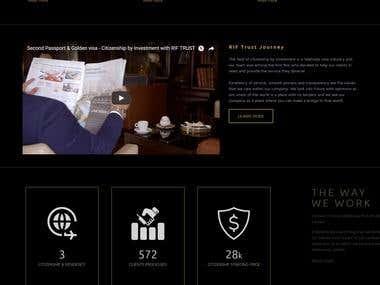 Rif Trust Website
