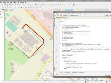 Map matching script for QGIS (PyQGIS) with white paper