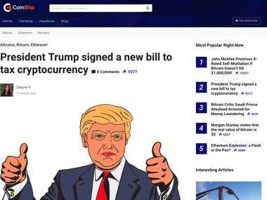 Cryptocurrency articles