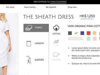 E-Commerce for Women Clothing- Haan