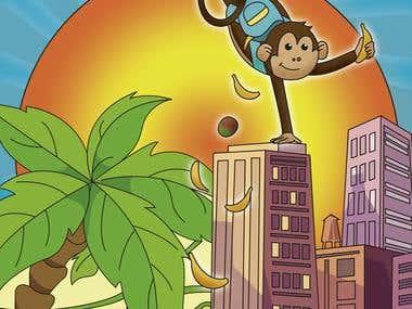Mango Monkey goes to the city
