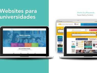 University Page