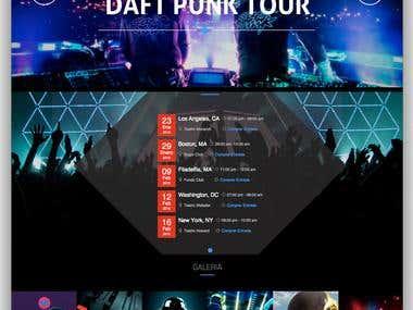 Daft Punk Microsite