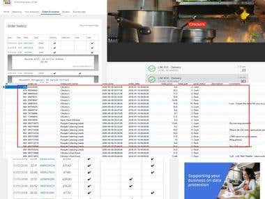 Web Scraping for Restaurant Order History