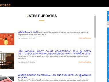 legal News Site