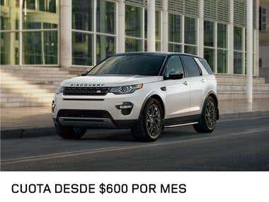 Works for Land Rover (Spanish copywriting)