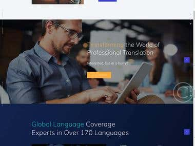 Translate pro translation website