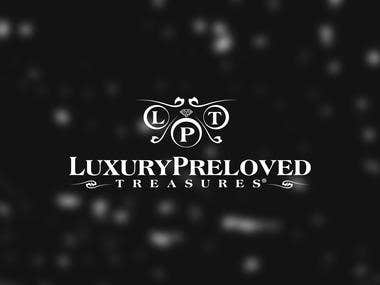 Luxury Preloved Treasure logo