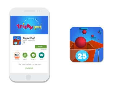 Tricky Shot App logo