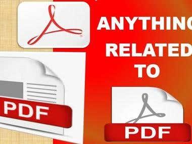 PDF EDITS