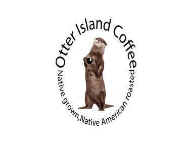 Otter Island Coffee logo