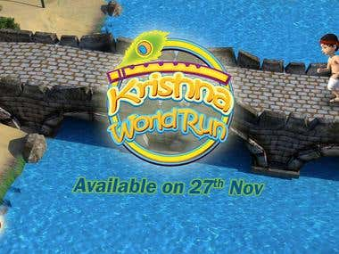 Krishna World Run - An Enfless Runner Game
