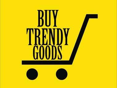 Buy Goods Trendy Logo