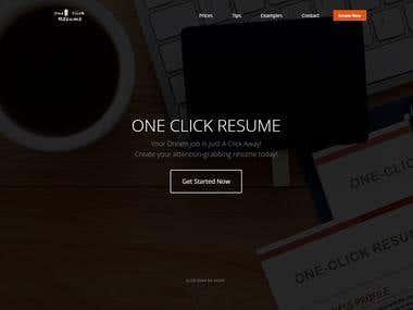 Resume Builder Application