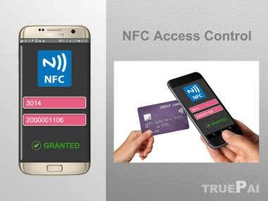 Android NFC access controller