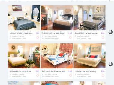 Online Resort Reservation