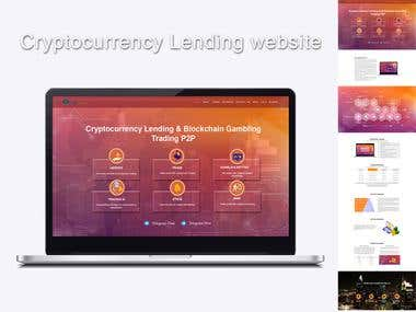 Cryptocurrency Lending Website