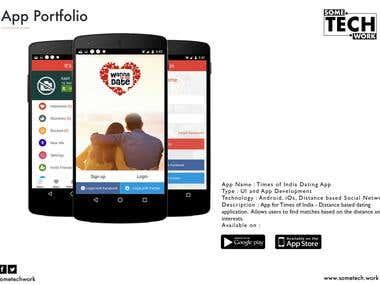 TOI Dating App