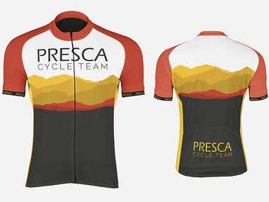 PRESCA CYCLE TEAM JERSEY