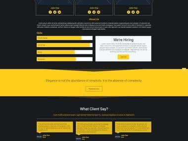 Pluton Compant Product Represent Website