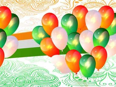 26 January independence day Banner Design