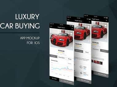 Luxury app Design