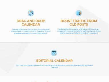 2018 Web Design Portfolio