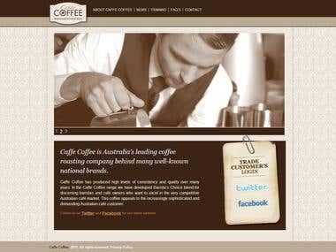 Caffe Coffee. Welcome to our store
