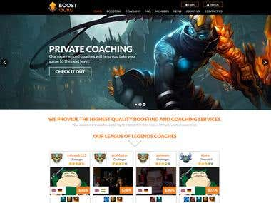 League of Legends ELO Boosting Website built in CakePHP