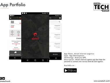 Airtel Internal Logistics App