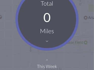 Driving IOS app