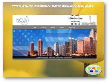 Diseño web www.novaimmigrationassociates.com