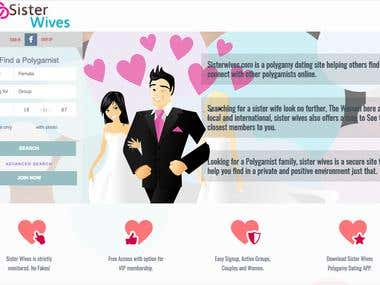WordPress Site(Dating, Sister wives)