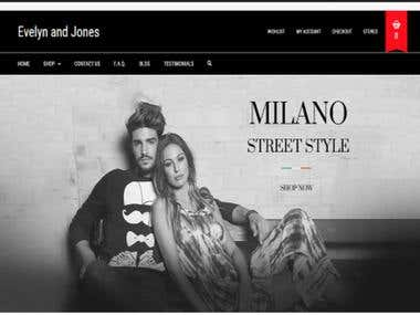 Milano an Ecommerce Platform
