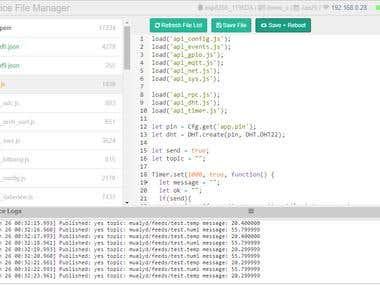 MQtt + ESP8266 + DHT22 + Mongoose OS + MQtt.fx