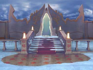 fantasy 3d render