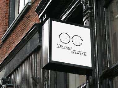 Vintage Glasses Logo