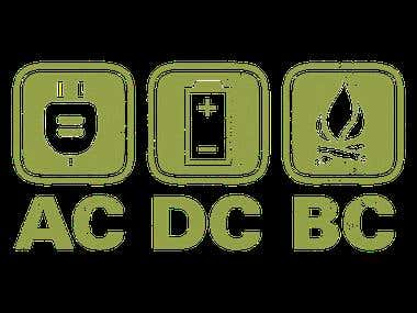 AC DC BC (Sample Logo On Shirt)