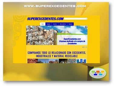 Diseño web www.superexcedentes.com