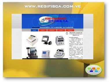 Diseño web www.regifisca.com.ve