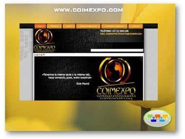 Diseño web www.coimexpo.com