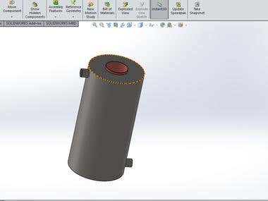 Combustion Ansys of Fuel using ANSYS