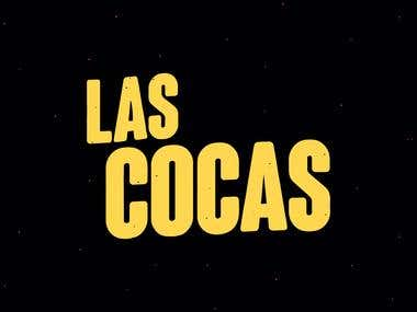 Logo for LAS COCAS music band