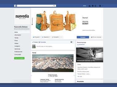 Re-brand for NUEVODIA handbags