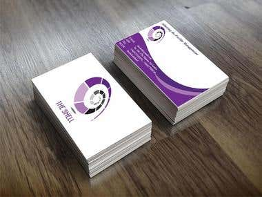 Business card designed by GraphiKMIRACLE.